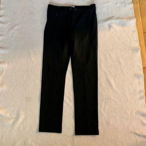 VINCE skinny leg pants with zipper pockets